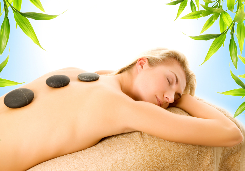 A hot stone massage from Martin Chiropractic in Chino California
